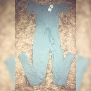 Ribbed Jumpsuit Stretch